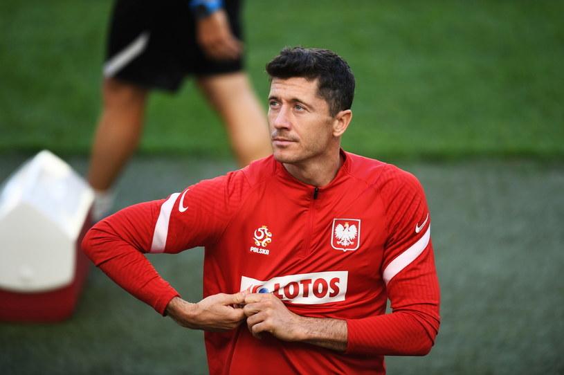 Robert Lewandowski błyśnie w meczu z Hiszpanią? /Marcin Gadomski /PAP