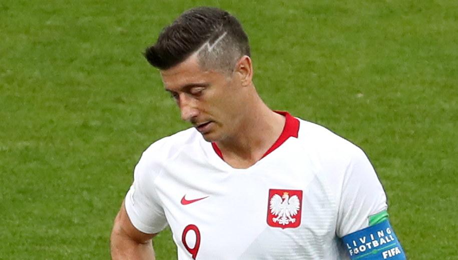 Robert Lewandowski był zawiedziony wynikiem spotkania z Senegalem /Abedin Taherkenareh   /PAP/EPA