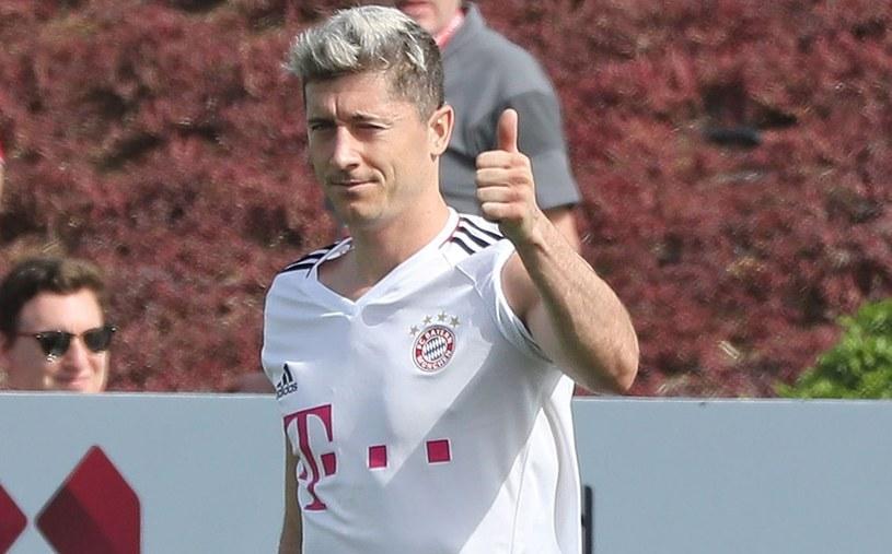 Robert Lewandowski, gwiazda Bayernu Monachium /AFP