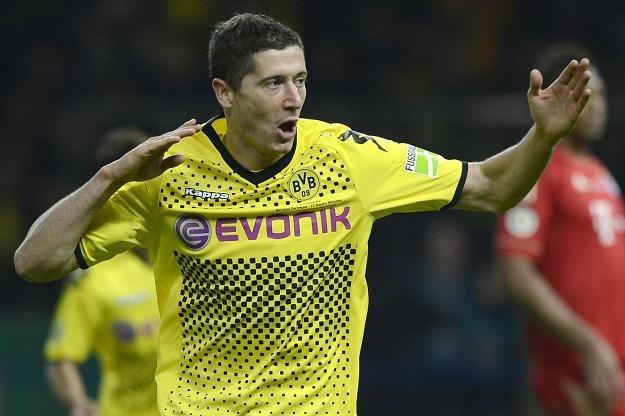 Robert Lewandowski, gwiazda Borussii Dortmund i reprezentacji Polski /AFP