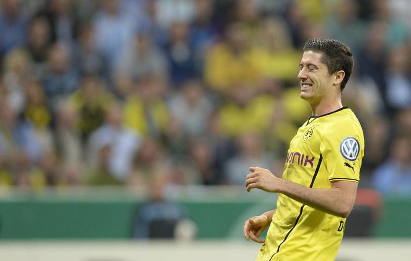 Robert Lewandowski, gwiazda Borussii Dortmund /AFP