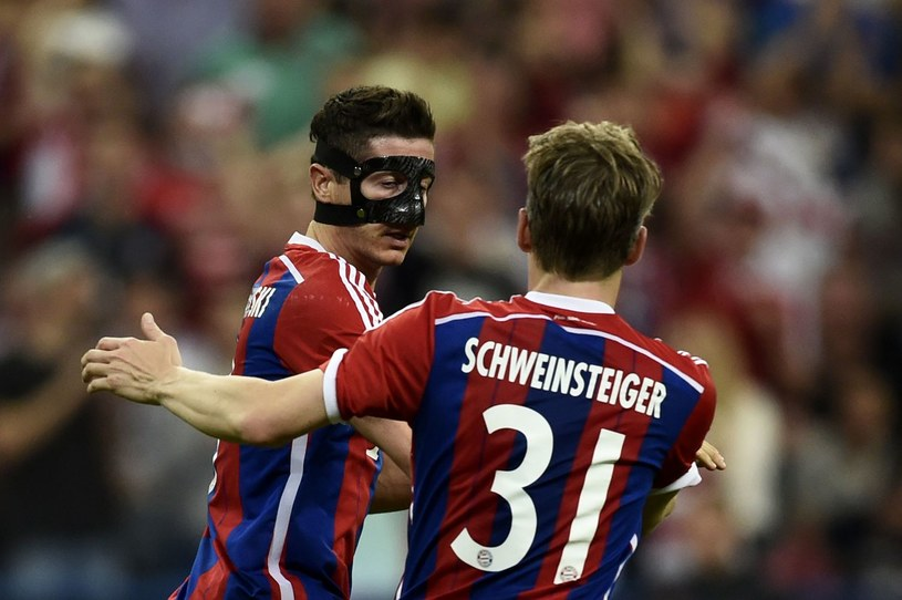 Robert Lewandowski i Bastian Schweinsteiger /AFP