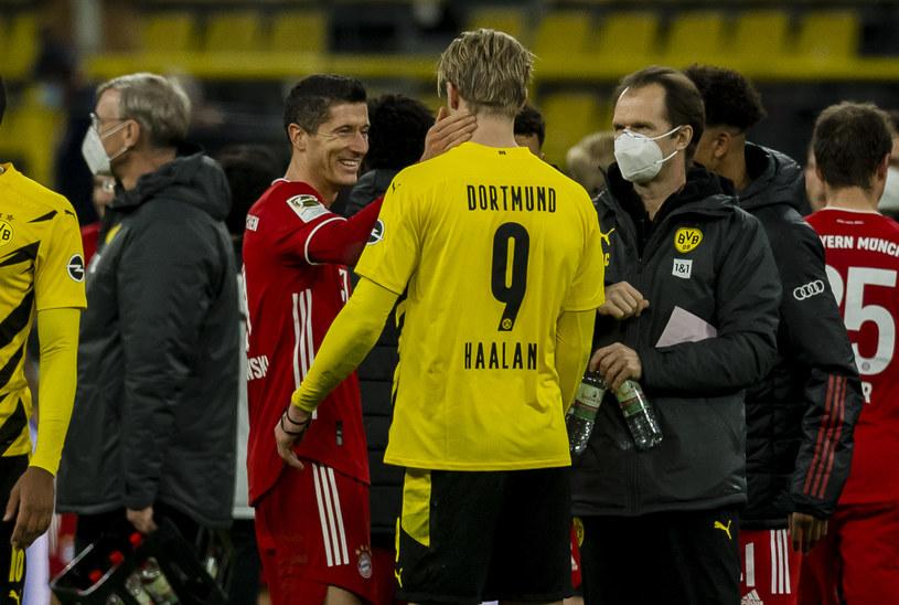 Robert Lewandowski i Erling Haaland /Alexandre Simoes /Getty Images