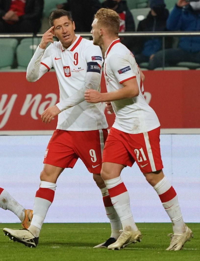 Robert Lewandowski i Kamil Jóźwiak /AFP