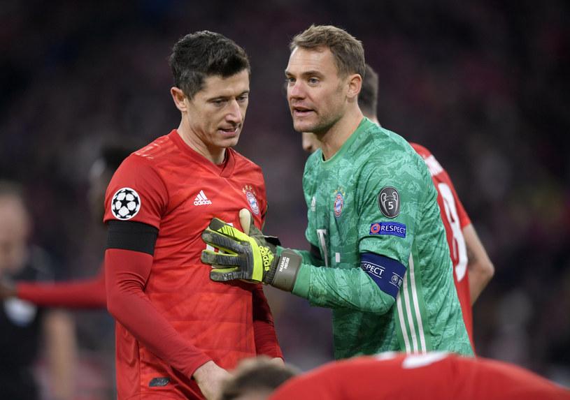 Robert Lewandowski i Manuel Neuer /Bernd Feil /East News