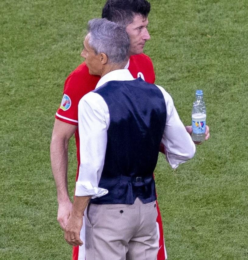 Robert Lewandowski i Paulo Sousa /fot. Andrzej Iwanczuk/REPORTER /East News