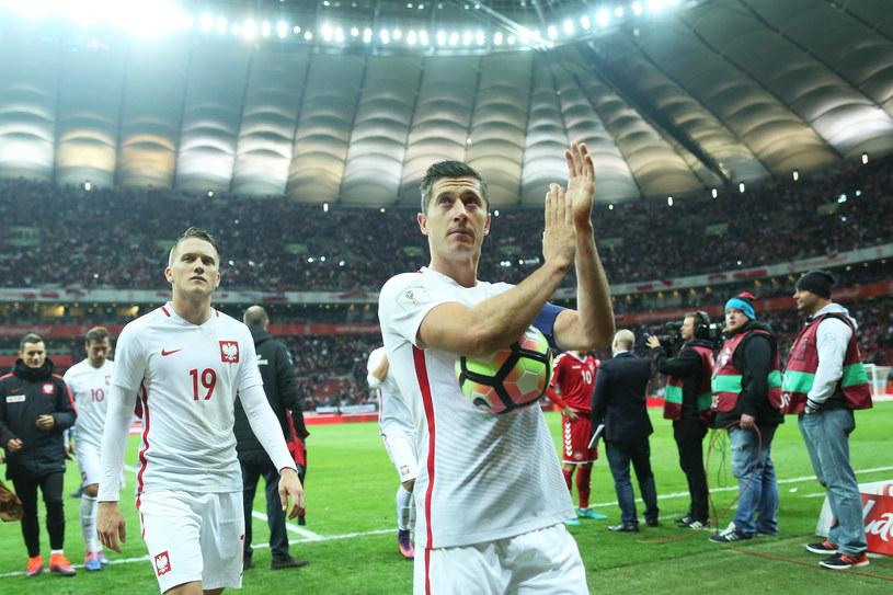 Robert Lewandowski i Piotr Zieliński, dwaj najbardziej wartościowi polscy piłkarze /Łukasz Grochala /Newspix