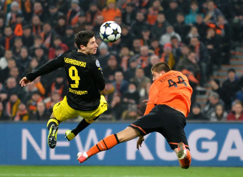 Robert Lewandowski imponuje skutecznością zarówno w Bundeslidze, jak i w Lidze Mistrzów /AFP