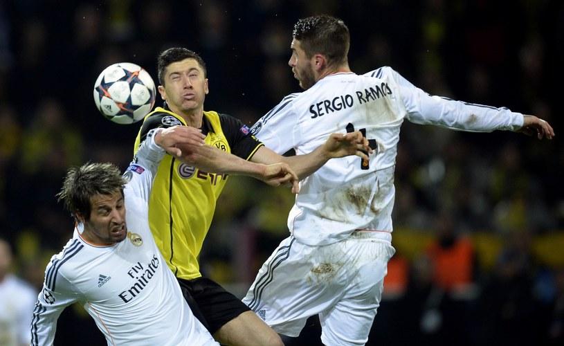 Robert Lewandowski jeszcze w Borussii strzelił Realowi cztery gole /AFP