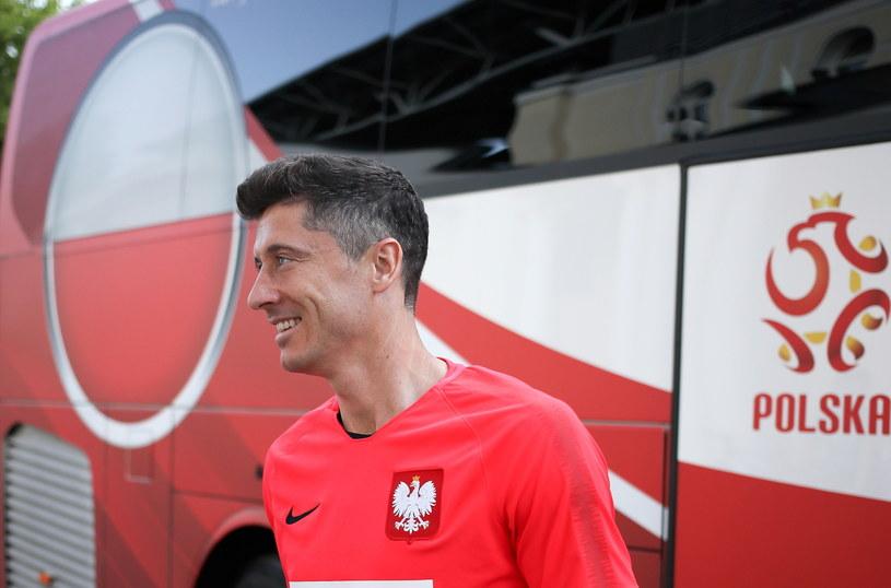 Robert Lewandowski, kapitan reprezentacji Polski /Leszek Szymański /PAP