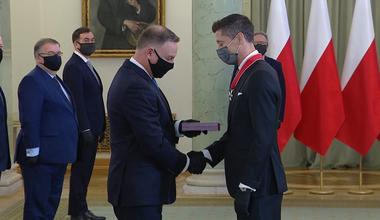 Robert Lewandowski kontra gangi Albanii, czyli czym grozi wizyta u prezydenta