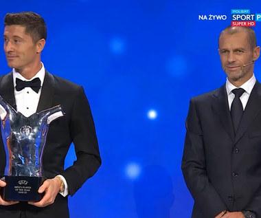 Robert Lewandowski najlepszym piłkarzem UEFA w sezonie 2019/20 (POLSAT SPORT). WIDEO