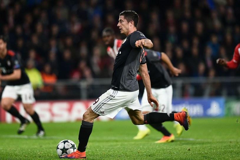 Robert Lewandowski, napastnik Bayernu i reprezentacji Polski /AFP
