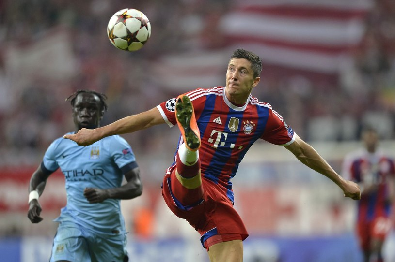Robert Lewandowski, napastnik Bayernu Monachium /AFP