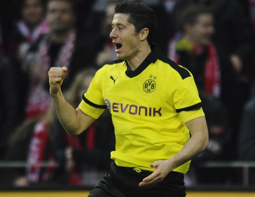Robert Lewandowski, napastnik Borussii /Getty Images