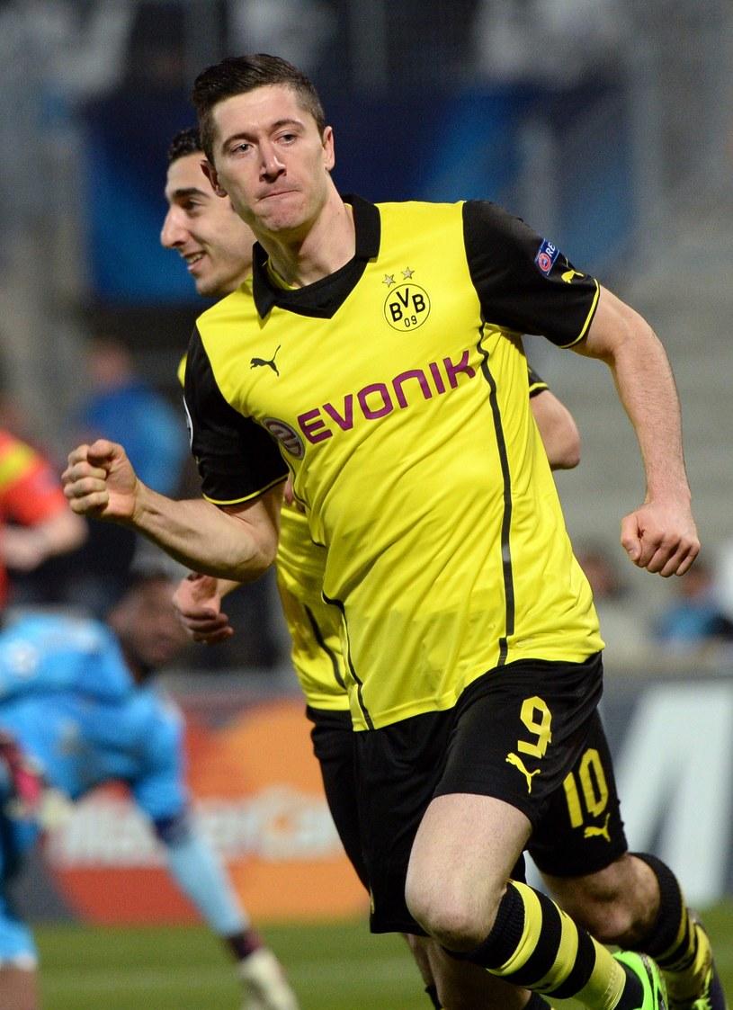 Robert Lewandowski, napastnik Borussiii Dortmund /AFP
