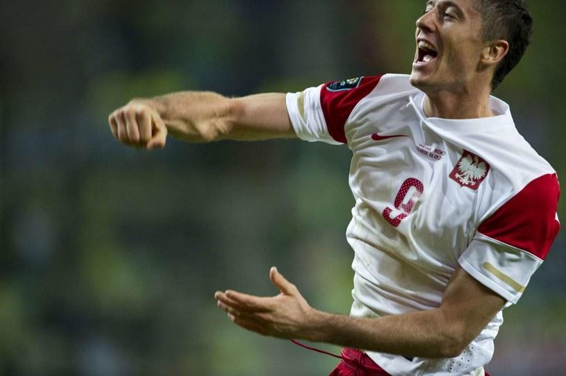 Robert Lewandowski, napastnik reprezentacji Polski i Borussii Dortmund /AFP