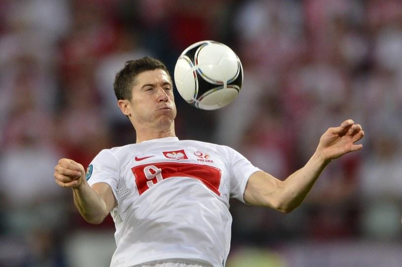 Robert Lewandowski, napastnik reprezentacji Polski /AFP