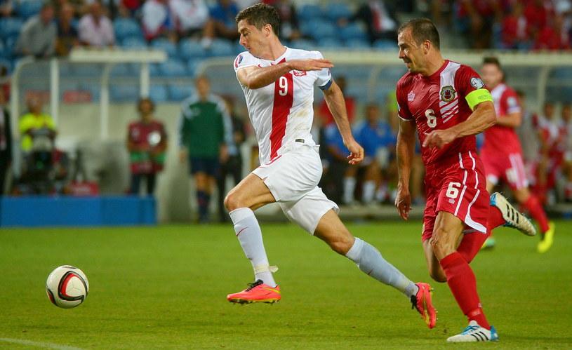 Robert Lewandowski nie miał taryfy ulgowej dla Gibraltaru /Bartłomiej Zborowski /PAP