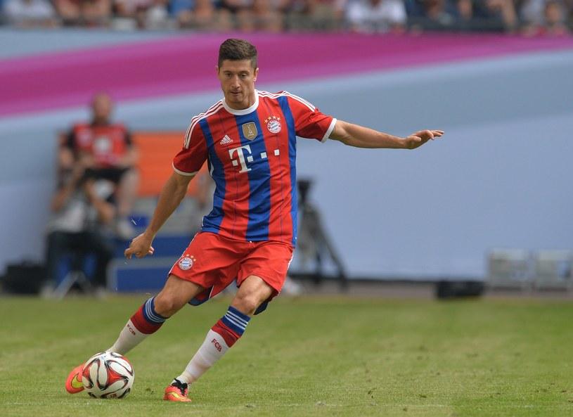 Robert Lewandowski, nowa gwiazda Bayernu Monachium /AFP