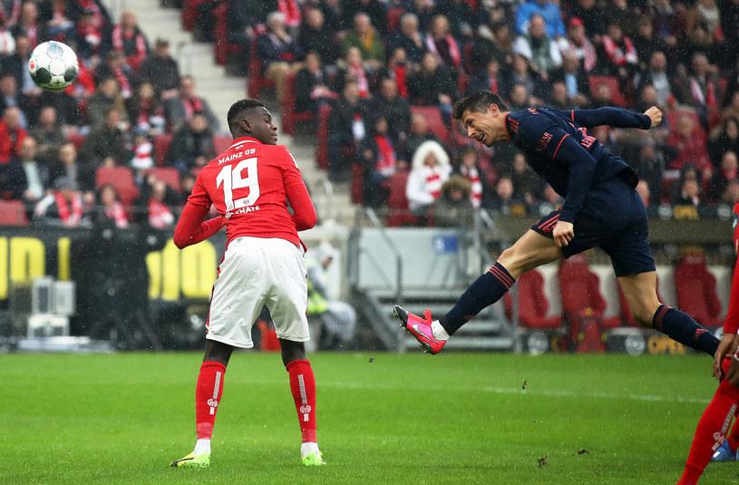 Robert Lewandowski pierwszego gola dla Bayernu /Alex Grimm /Getty Images