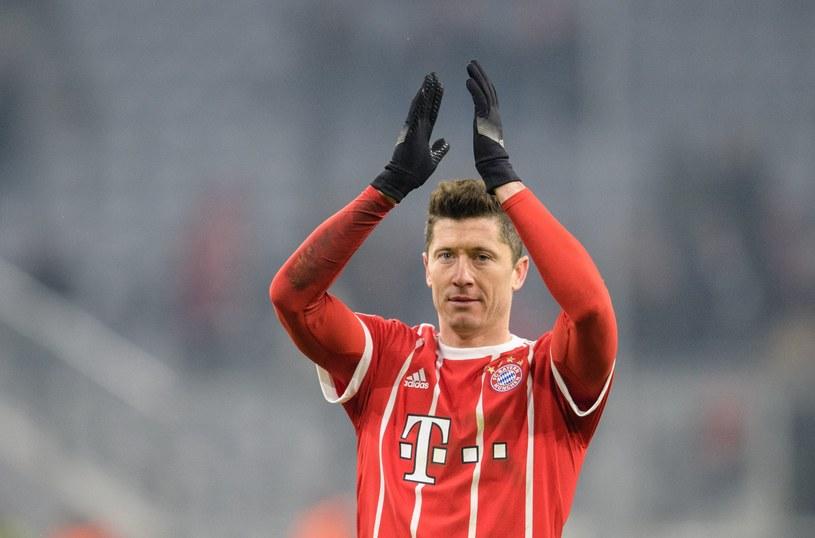 Robert Lewandowski po meczu z Besiktasem /AFP