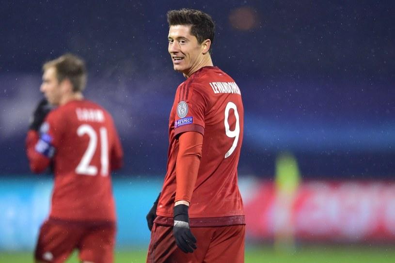 Robert Lewandowski po remisie z Bayerem nie rozpacza /AFP