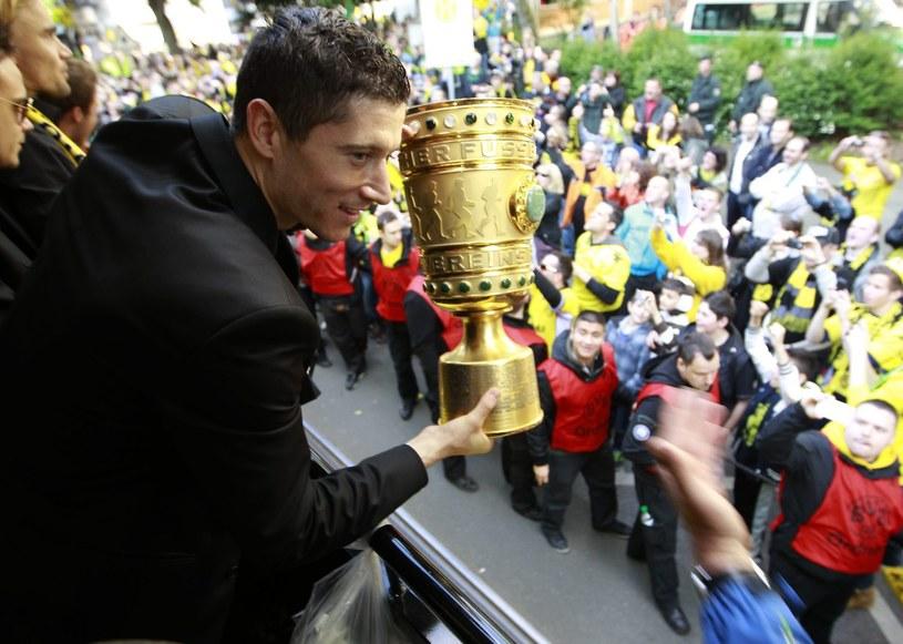 Robert Lewandowski ponownie został wyróżniony /AFP