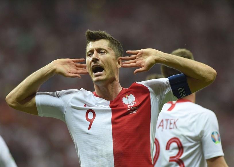 Robert Lewandowski poprowadzi kadrę na Euro 2020? /AFP