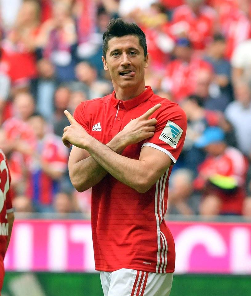 Robert Lewandowski rozegrał świetny mecz przeciwko FC Augsburg /PAP/EPA