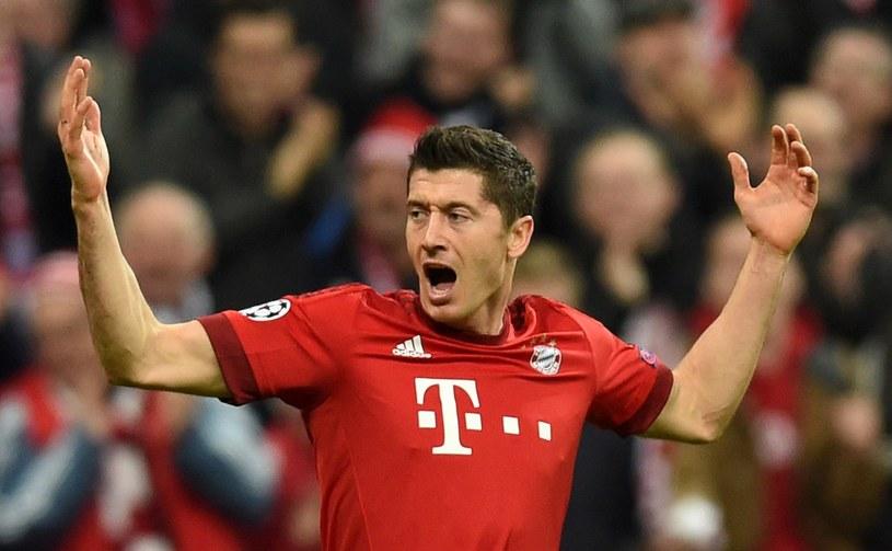 Robert Lewandowski rozgrywa świetny sezon /AFP