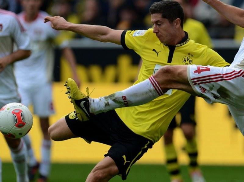 Robert Lewandowski, snajper Borussii Dortmund /AFP