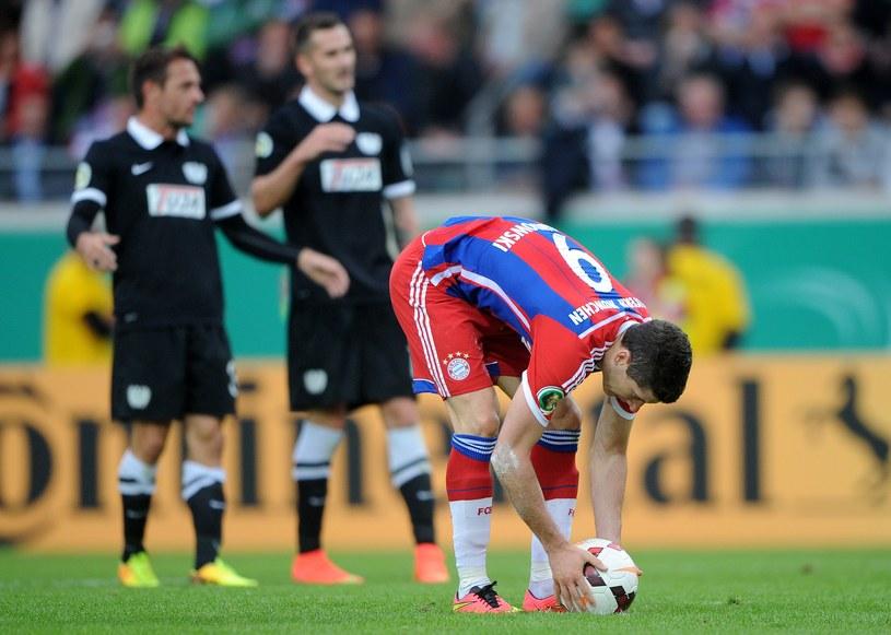 Robert Lewandowski świetnie wkomponował się w drużynę mistrzów Niemiec /AFP