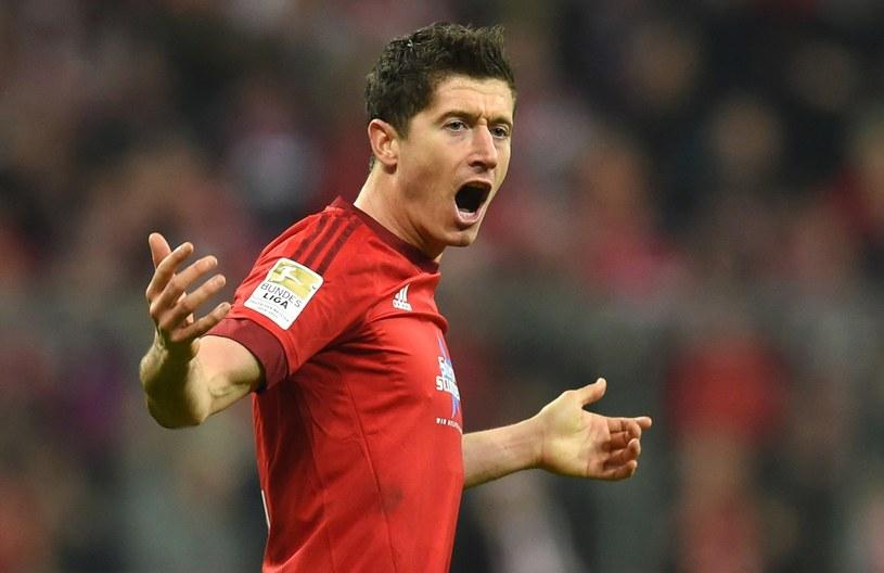 Robert Lewandowski to as Bayernu Monachium /AFP