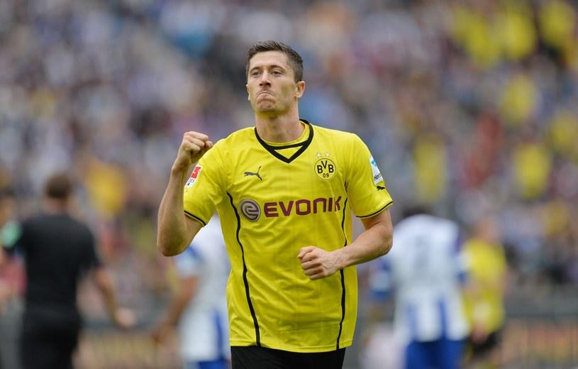 Robert Lewandowski twierdzi, że nie myśli jeszcze o grze w Bayernie i koncentruje się tylko na finale Pucharu Niemiec /AFP