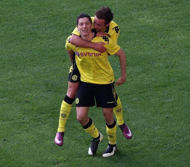 Robert Lewandowski tym razem gola nie strzelił. /AFP