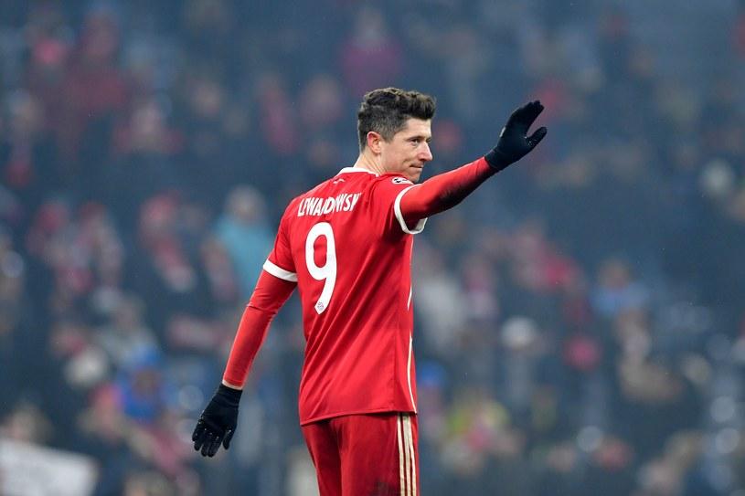 Robert Lewandowski w barwach Bayernu. Jak długo jeszcze? /AFP