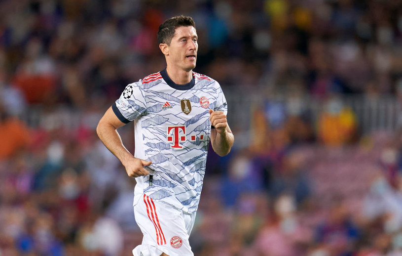 Robert Lewandowski w meczu z Barceloną / Pedro Salado/Quality Sport Images /Getty Images