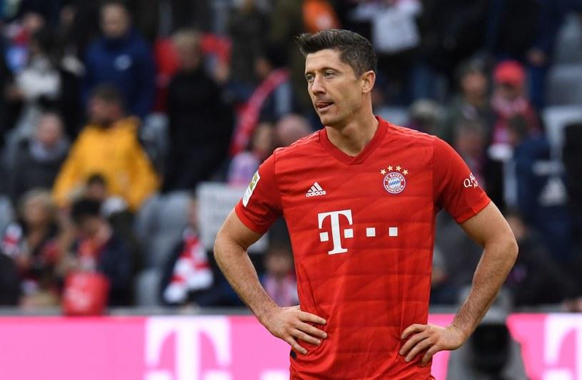 Robert Levandowski in the Hoffenheim / AFP duel