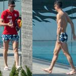 Robert Lewandowski wypoczywa po Euro 2020 i gra w piłkę z kibicami na ulicy. Jest nagranie