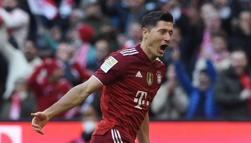 Robert Lewandowski wyrównał rekord, a Bayern pokonał Hoffenheim