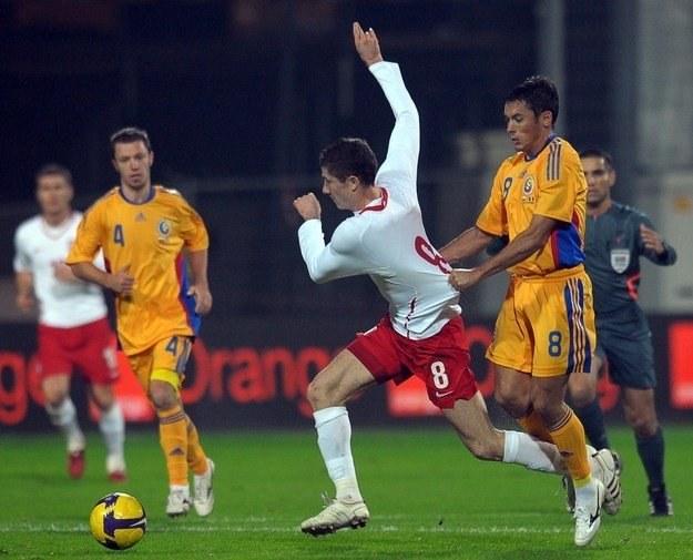 Robert Lewandowski zagrał z Rumunią, teraz zagra przeciw Bułgarii /AFP