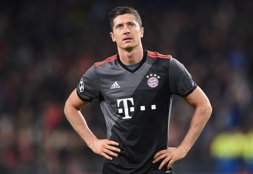 Robert Lewandowski zajął ósme miejsce w plebiscycie na najlepszego zawodnika roku według Goal.com /AFP