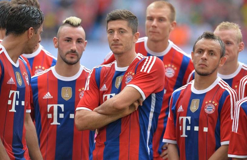 Robert Lewandowski znakomicie przyjął się w Bayernie Monachium /AFP