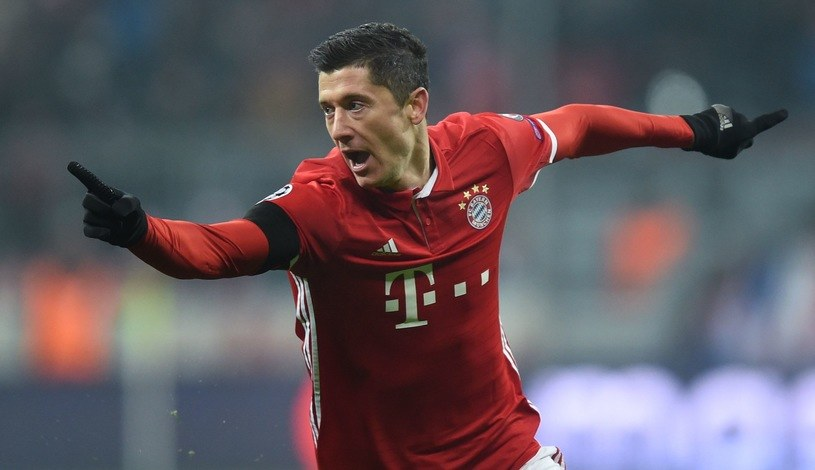 Robert Lewandowski /AFP