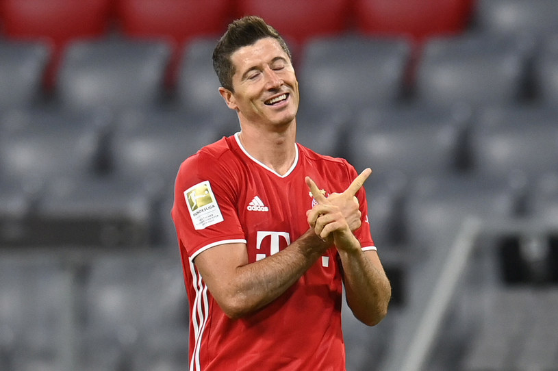 Robert Lewandowski /CHRISTOF STACHE /AFP
