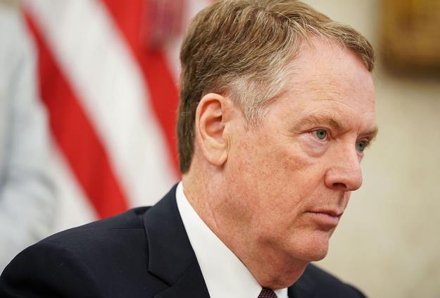 Robert Lighthizer, przedstawiciel USA ds. handlu /AFP