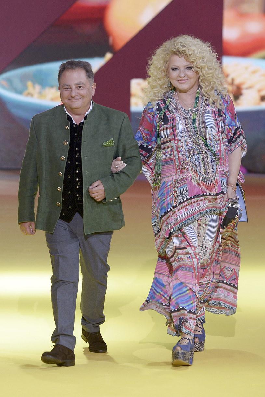 Robert Makłowicz i Magda Gessler na jesiennej ramówce stacji TVN /AKPA