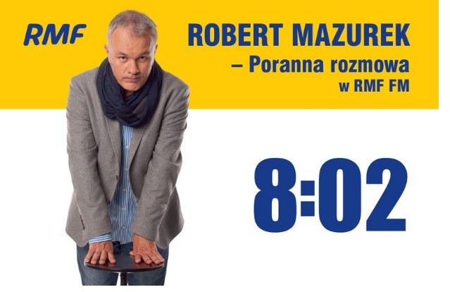 Robert Mazurek zaprasza na Poranną rozmowę w RMF FM /RMF