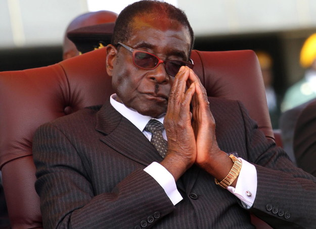 Robert Mugabe miał 95 lat /AARON UFUMELI /PAP/EPA